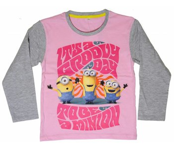 Minions Shirt filles 8 ans Groovy