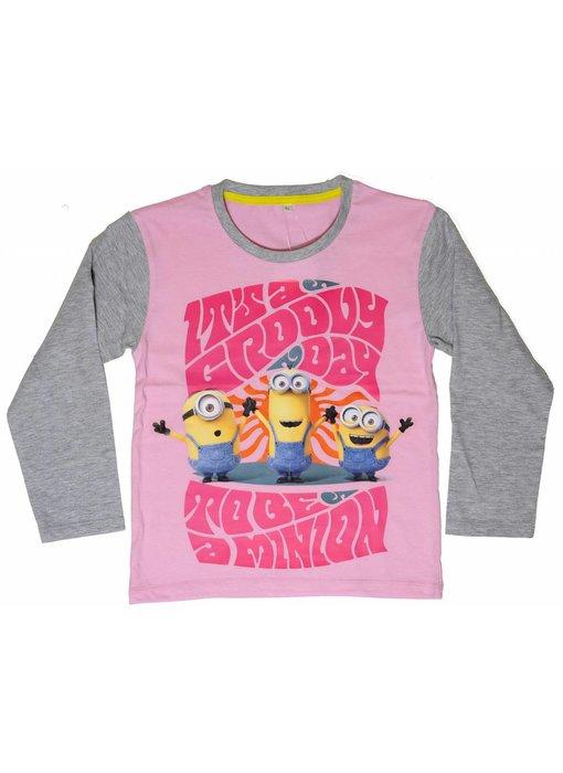 Minions Shirt girls 8 jaar Groovy