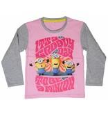 Minions Groovy Day - Shirt girls lange mouw - 6 jaar