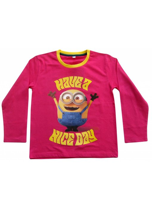 Minions Shirt girls 6 jaar Nice