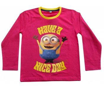 Minions Shirt filles de 4 ans
