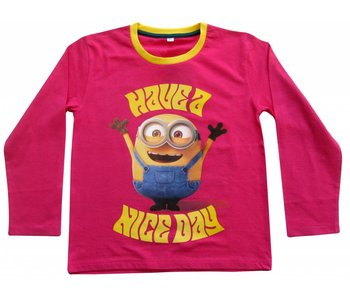 Minions Shirt girls 2 jaar Nice