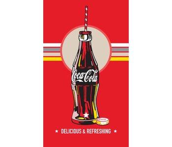 Coca Cola Bottle beach towel 100% cotton 70x120cm