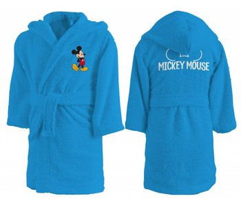 Disney Mickey Mouse Star bathrobe 100% cotton 2/4 years