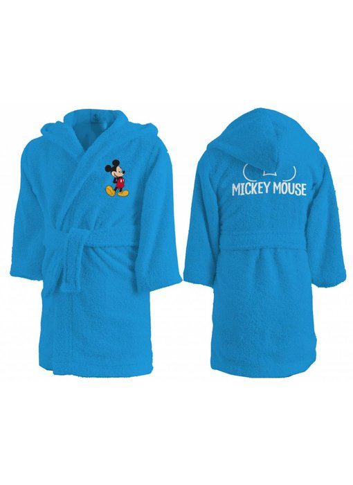 Disney Mickey Mouse Star bathrobe 100% cotton 2/4 years