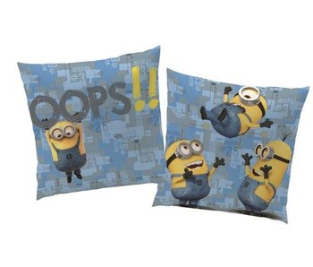 Minions Oops coussin 40x40cm