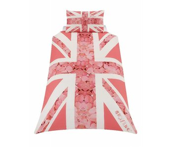 Union Jack Duvet Rose