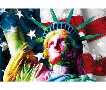 Patrice Murciano Wall mural Lady Liberty 366x253cm