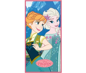Disney Frozen Towel Blue Sisters 70x140 cm