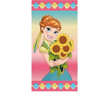 Disney Frozen Anna Sunflowers Strandtuch 70x140 cm