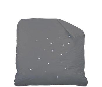 Matt & Rose Duvet Douce Nuit anthracite / perle 240x220cm