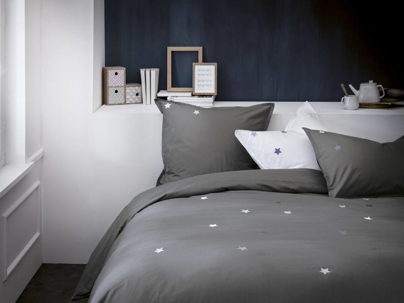 Matt & Rose Douce Nuit - Duvet - Lits Jumeaux - 240 x 220 cm - Anthrazit