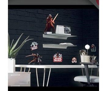 Star Wars Wand-Aufkleber 2 x Blatt A3