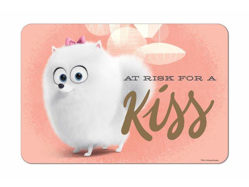 The Secret Life of Pets Kiss - Placemat - 40 x 29 cm - Roze