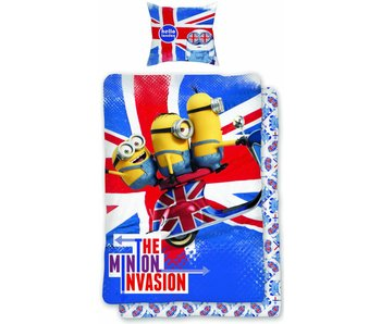 Minions Hello London duvet cover 140x200cm + 65x65cm