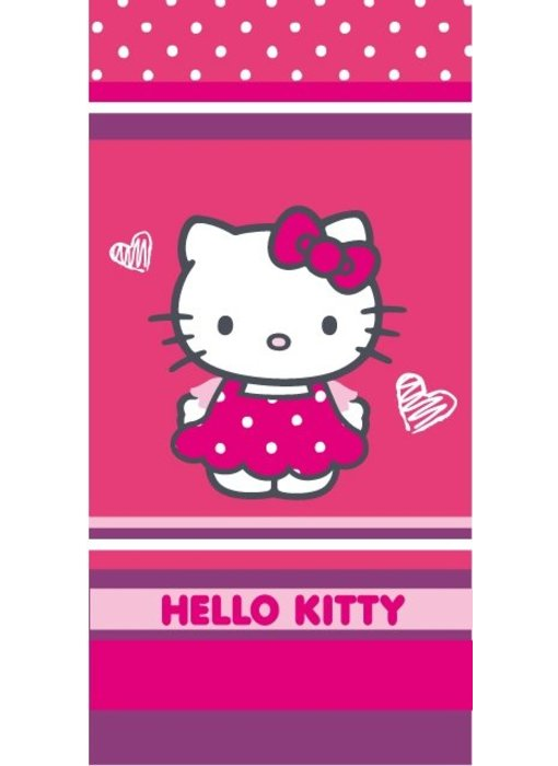 Hello Kitty Strandlaken Dress 75x150cm