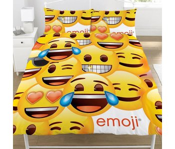 Emoji Faces duvet 200x200cm for 2 persons