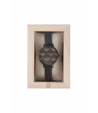 Zusss Hip Horloge - Zwart