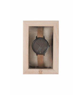 Zusss Hip Horloge - Camel