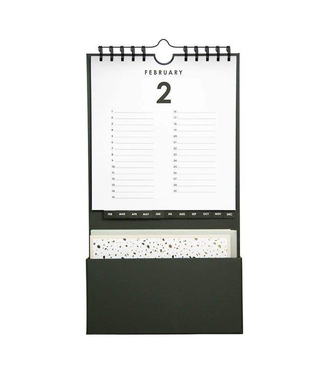 Kalender met kaartjes - MIXED