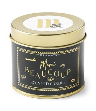 ME&MATS Tin Candle - Merci Beaucoup