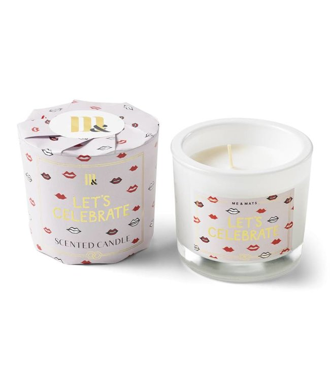 ME&MATS Scented Candle - Let's Celebrate