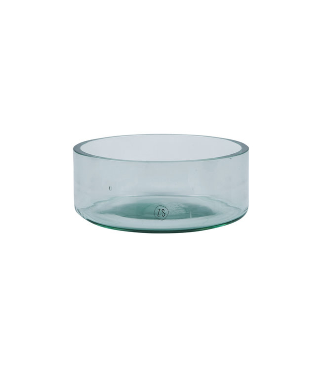 Schaal Gerecycled Glas - TRANSPARANT