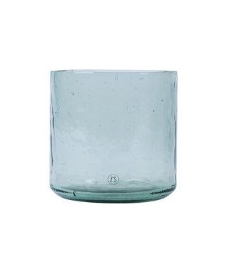 Vaas Gerecycled Glas - TRANSPARANT