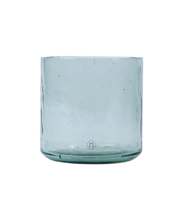 Zusss Vaas Gerecycled Glas - TRANSPARANT