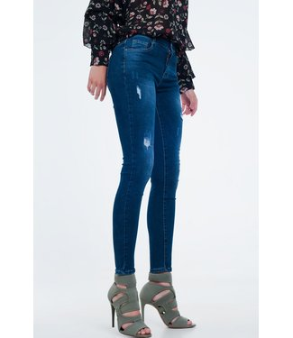 Q2 Ripped Skinny Jeans - 38166110