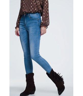 Q2 Super skinny high waist jeans - 39454109