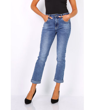 Toxik Normal Waist Mom Jeans - L1803