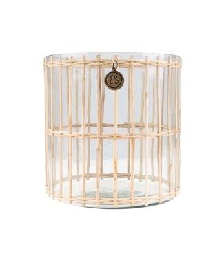 Zusss Windlicht Bamboe - M