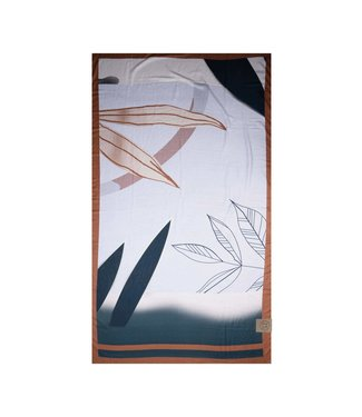 Zusss Sjaal bladeren kunst