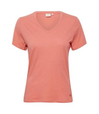 Cream Basic T-Shirt - NAIA