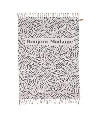 Zomerse plaid Bonjour Madame - 250x215cm