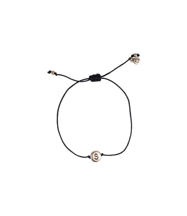 Initialen armband - GOUD (A-Z)