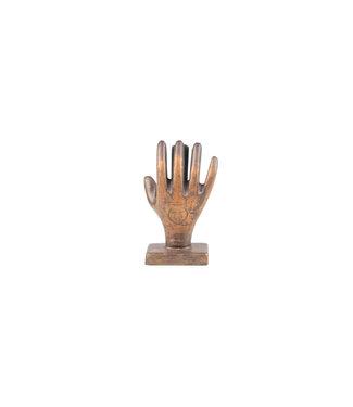 Zusss Kaartenstandaard Hand - METAAL