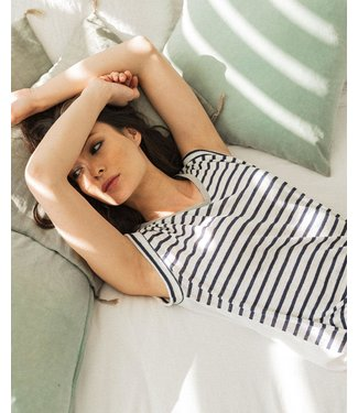 Le Temps Des Cerises T-Shirt Streepjes - TSH F SERGIA