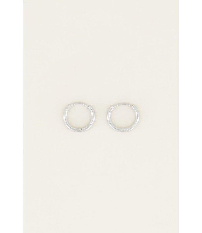 Basic oorringen - 0,9 cm