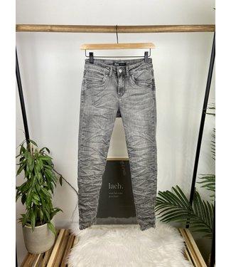 Toxik Stoere high waist jeans - G0356