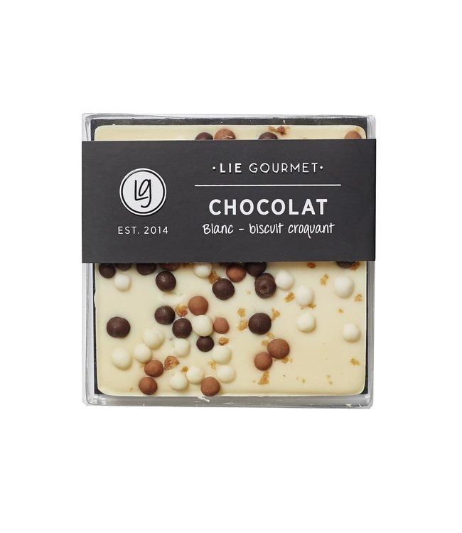White chocolate crunch