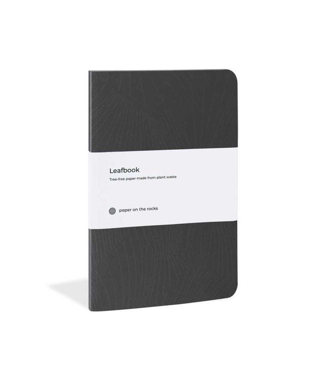 Plant paper notitieboeken softcover Black