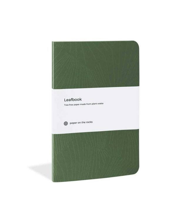 Plant paper notitieboeken softcover Pine