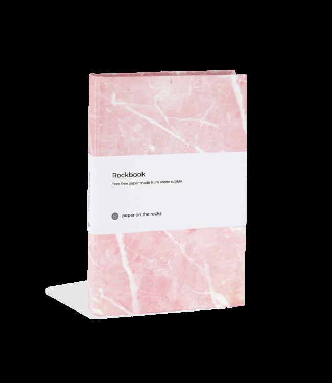 Stone paper Marble premium notitieboeken Rose