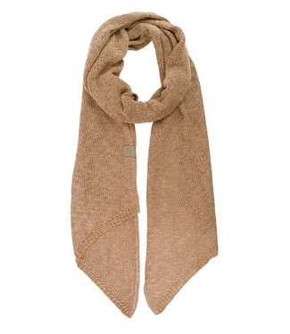 Zusss luchtig gebreide sjaal - camel/safari