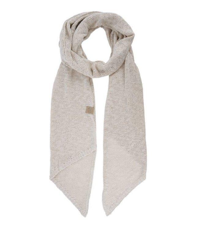 Zusss luchtig gebreide sjaal  - zand