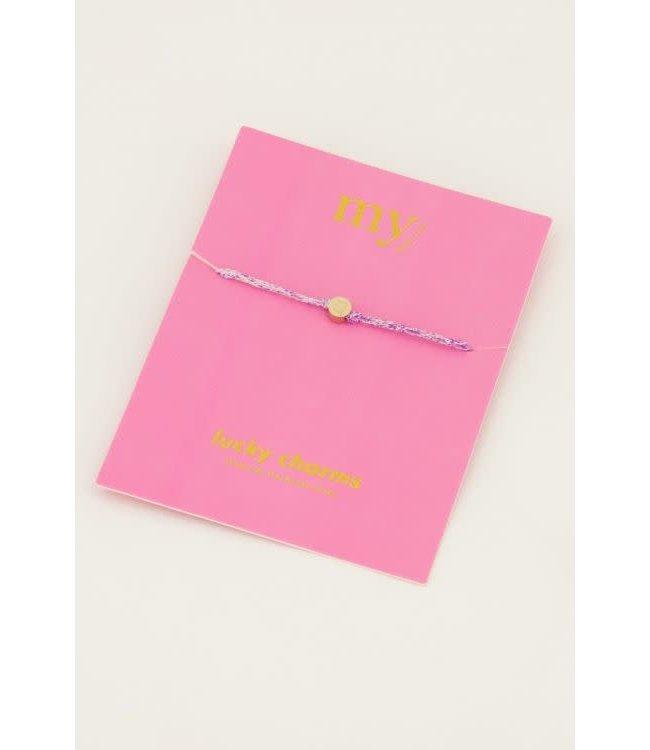Armband touw klaver - MJ045031200