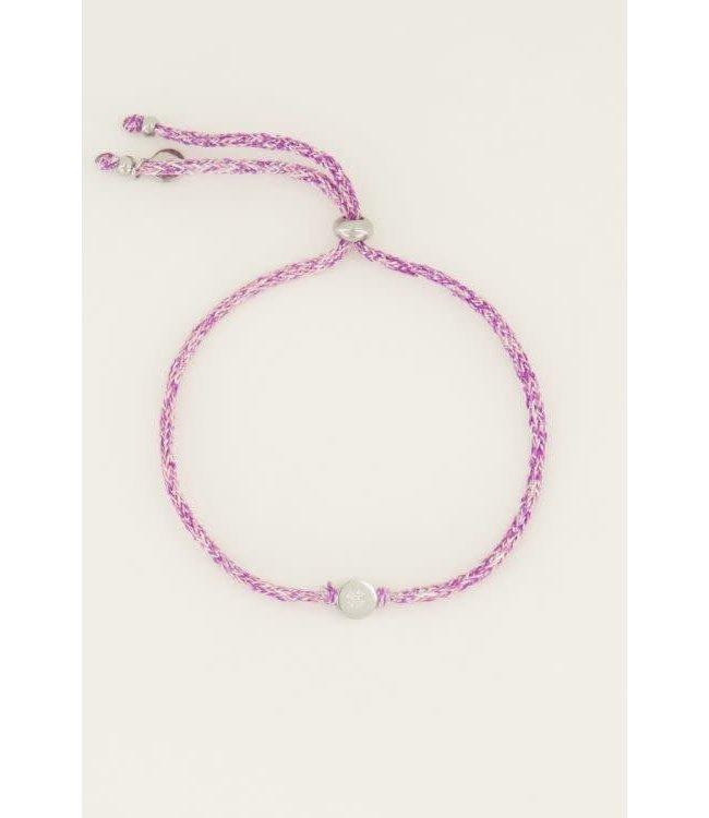 Armband touw klaver -  MJ045031500
