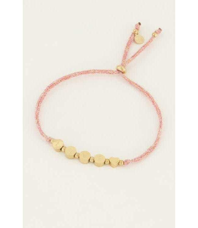 Armband touw love - MJ045011200